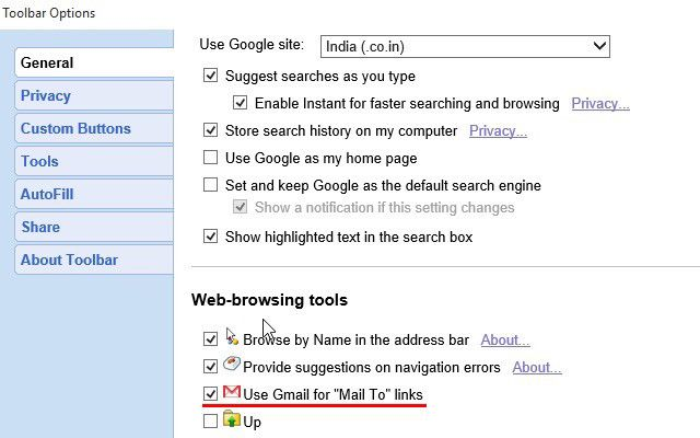 es decir-google-barra de herramientas-gmail-mailto