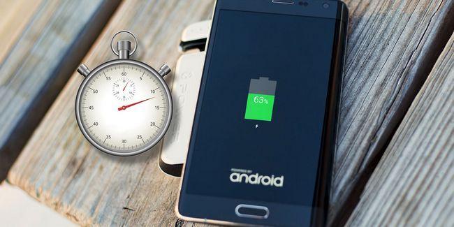 Cómo cargar el teléfono android más rápido