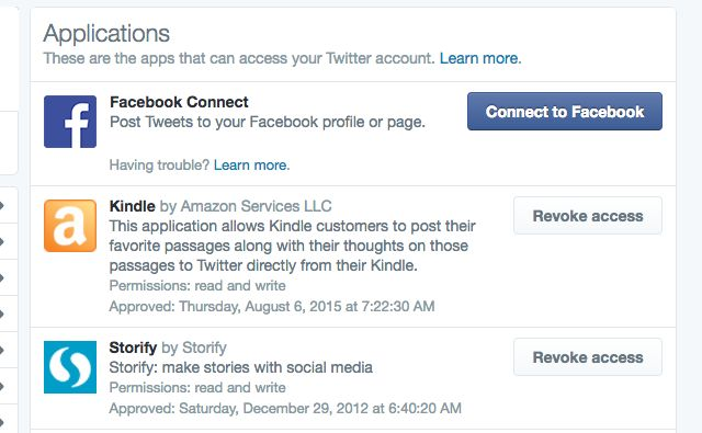 Twitter-fugas Revocar-Acceso