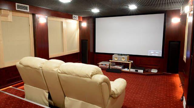 casa-proyector LCD de pantalla