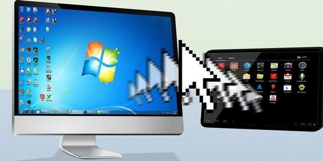 Cómo controlar tu android a través del ratón y el teclado de su ordenador