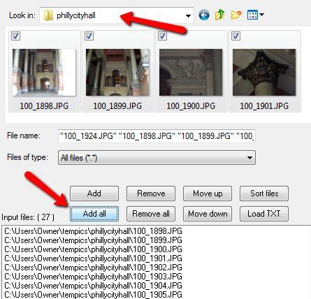 cambiar el tamaño de las imágenes a granel