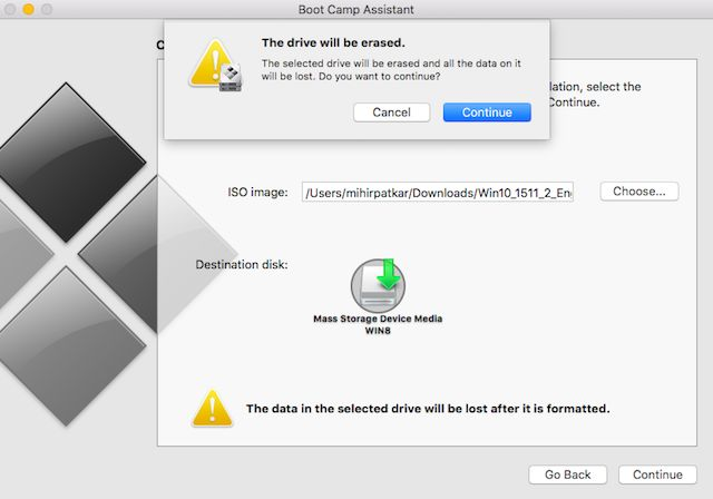ventanas-10-mac-instalador-boot-usb-drive-will-be-borrado