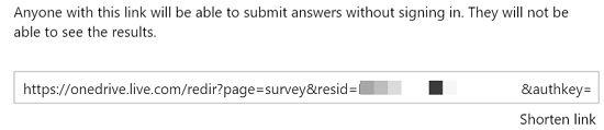 surveyLink