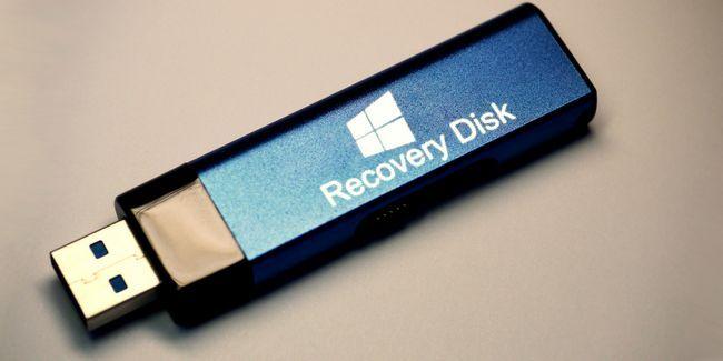 Cómo crear un disco de recuperación de windows 8