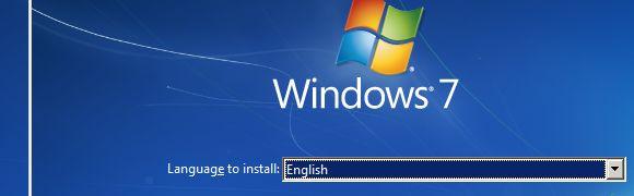 USB disco de instalación de Windows
