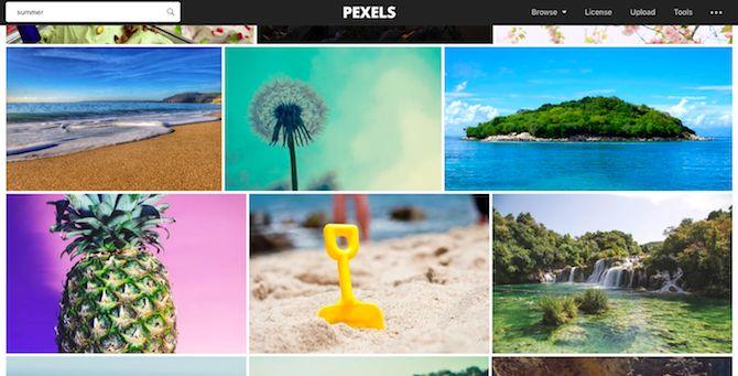 imágenes de verano stock