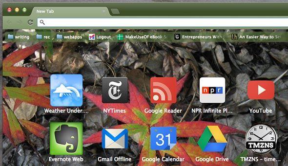 tema de Chrome Google
