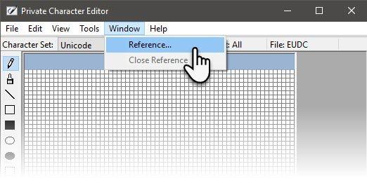 La ventana de referencia
