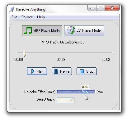 crear pistas de karaoke
