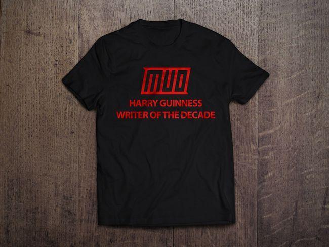 MakeUseOf camiseta maqueta en Negro