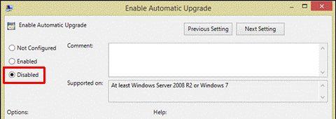Oficina desactivar la actualización automática 2013