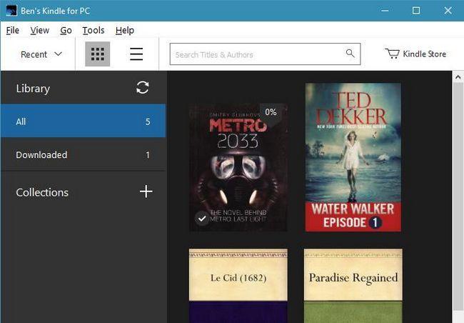 kindle-windows-aplicación