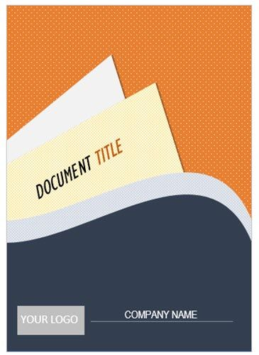 Un diseño de página de portada