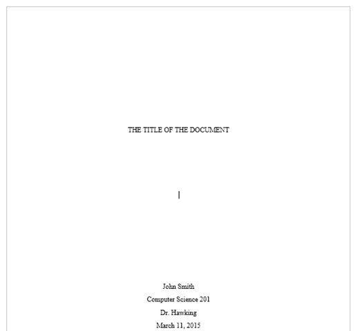 Llanura de la página de título