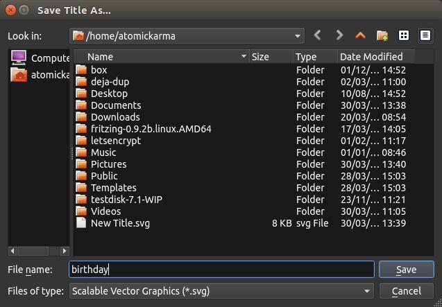 Linux 2.0 Guardar OpenShot