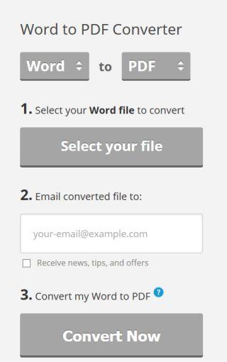 WordToPDF convertidor
