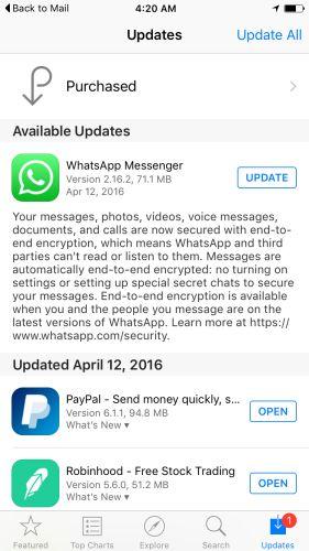 descarga WhatsApp