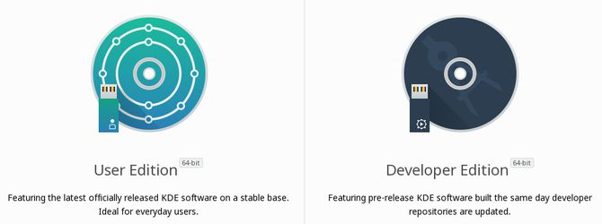 Ediciones KDE neón
