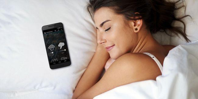 ¿Cómo conciliar el sueño rápidamente con aplicaciones android somnolientos