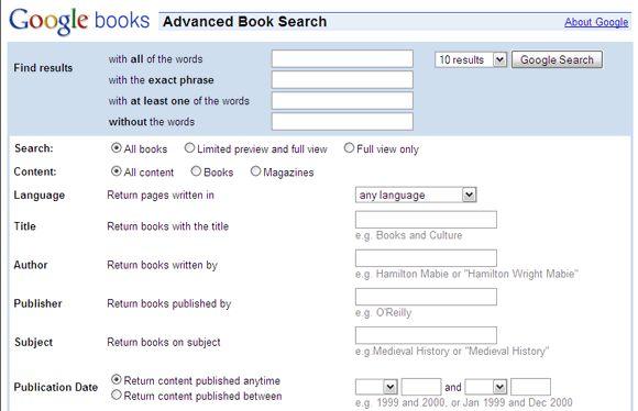 cómo encontrar un libro sin título o autor