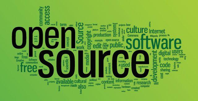 De código abierto-windows-palabra-nube