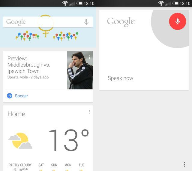 OK Google Ahora Captura de pantalla