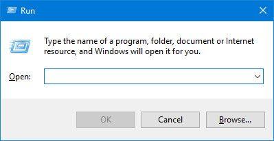 Ejecute la interfaz en Windows 10