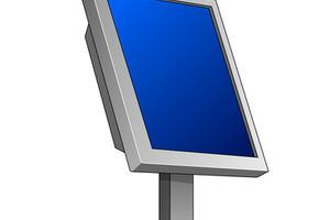 Aprender a medir un monitor de pantalla ancha.