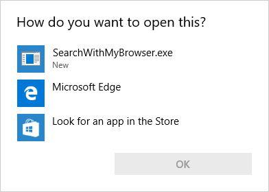 ¿Cómo quiere abrir este