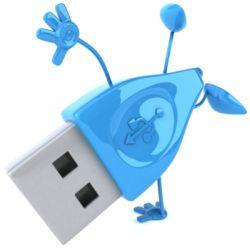 la unidad USB de formato