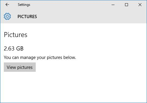 10 ventanas gestionar fotos