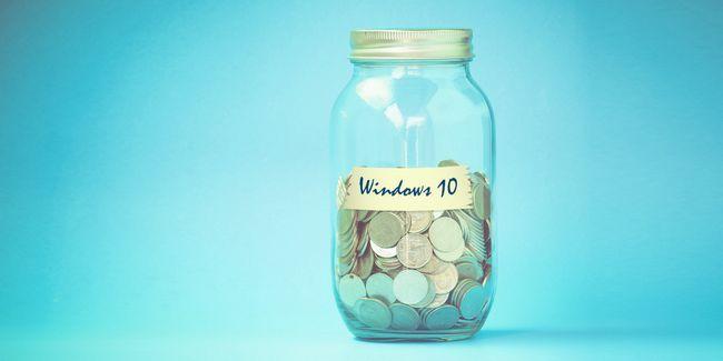 Esta es la forma en que microsoft puede obtener beneficios económicos de las ventanas 10