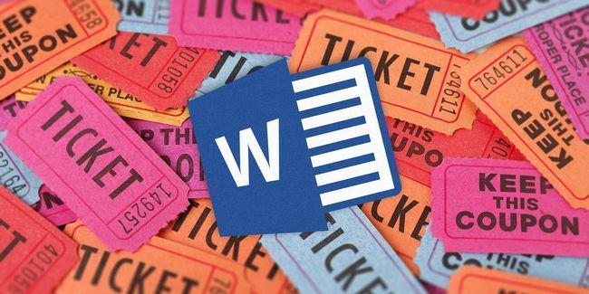 ¿Cómo conseguir una plantilla boleto libre para microsoft word