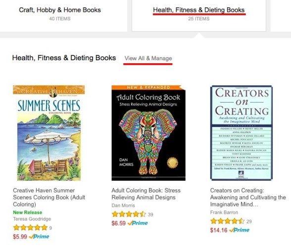 Amazon Categoría Recomendaciones