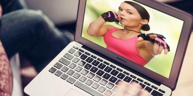 Cómo ponerse en forma con el entrenador personal en línea