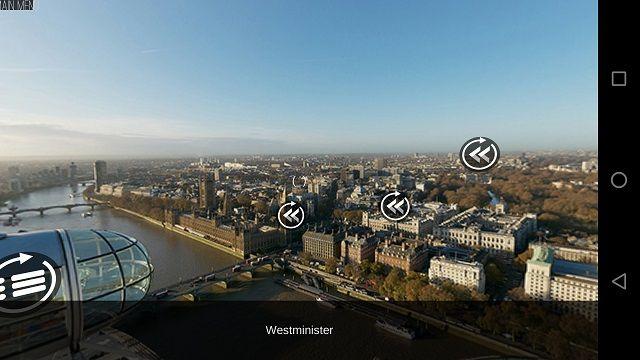 Londres-VR de pantalla