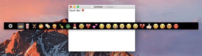 toque la barra de aplicaciones de demostración