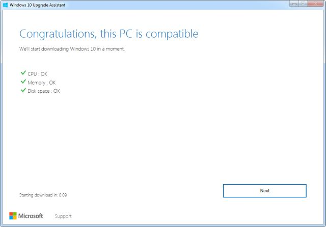 Windows 10 Asistente de actualización 02