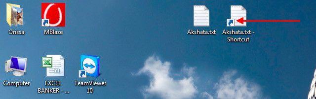 archivos de acceso directo-símbolo