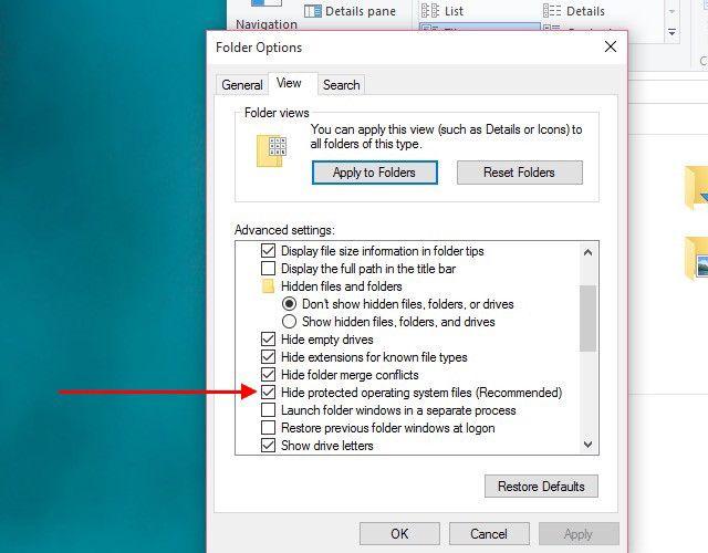 show-sistema de archivos