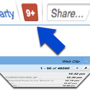 Cómo ocultar google plus número de mensajes icono de todos los servicios de google