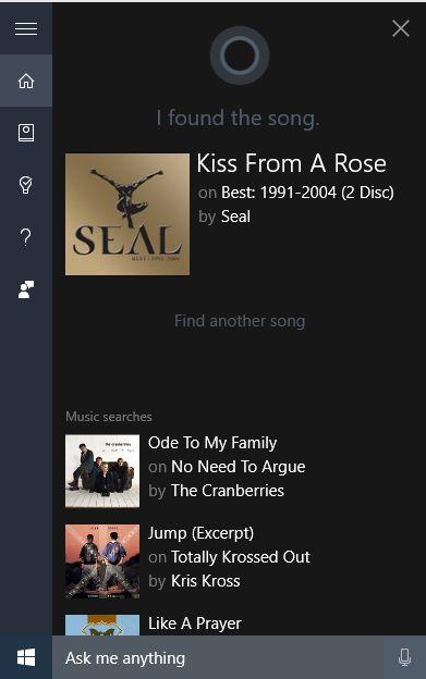 Identificar Música Cortana 4