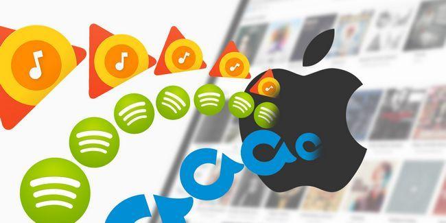 Cómo importar spotify, rdio y más a su colección de música de apple