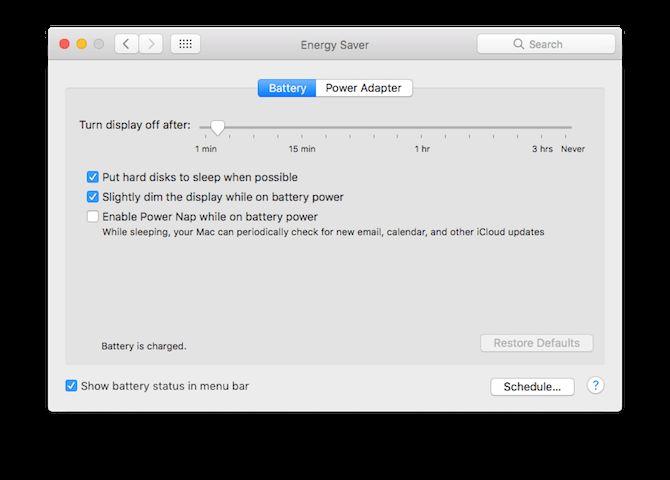 MacBook mejorar la vida de la batería 2