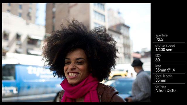 Retrato planteada: Fotografía de la calle
