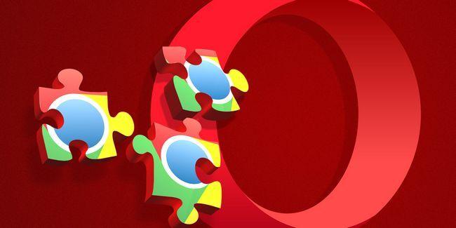 Cómo instalar extensiones de google chrome en el navegador opera