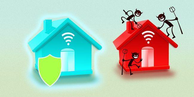 Cómo mantener a salvo con aparatos habilitados de internet en su casa