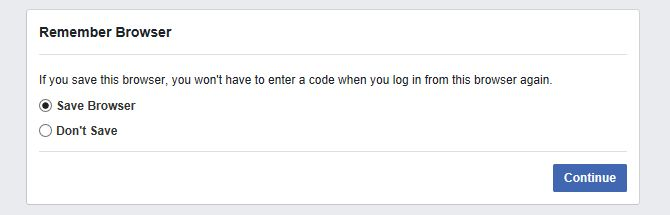 Recuerde Facebook Browser