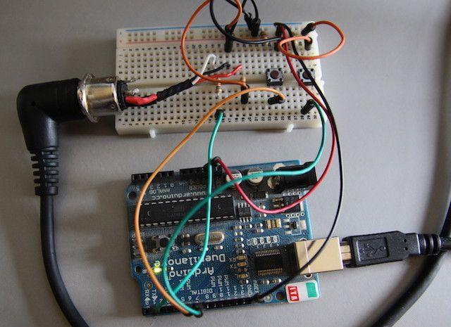 Arduino-Midi-Controller-Breadboard